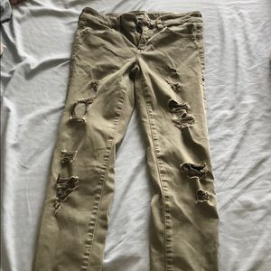 American Eagle Outfitters Pants & Jumpsuits - New Army Green AE Jeans!